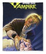 Atomic Vampire Fleece Blanket