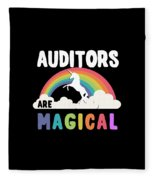 Auditors Are Magical Fleece Blanket