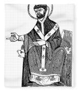 Augustine Of Hippo Fleece Blanket