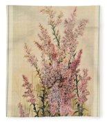 Australian Wild Flowers  8 Fleece Blanket