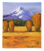Autumn Mountain Fleece Blanket