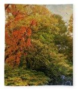 Autumn Riches Fleece Blanket