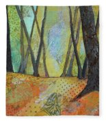 Autumn's Arrival II Fleece Blanket