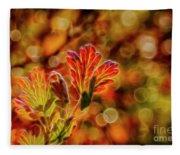 Autumn's Glow 2 Fleece Blanket