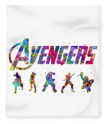 Avengers Team Fleece Blanket