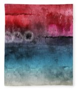 Awakened 4-  Abstract Art By Linda Woods Fleece Blanket