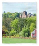 Ayton Castle Fleece Blanket