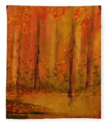 Back Woods Fleece Blanket