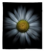 Backyard Flowers 31 Color Flow Version Fleece Blanket by Brian Carson