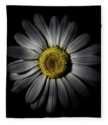 Backyard Flowers 52 Color Version Fleece Blanket by Brian Carson