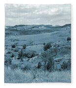 Badlands Cloud Shadows Fleece Blanket