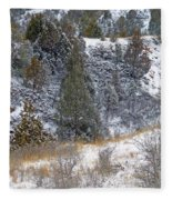 Badlands Winter Fleece Blanket