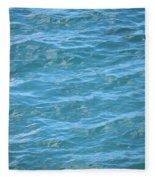 Bahamas Blue Fleece Blanket