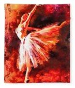 Bailarina Fleece Blanket