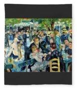 Bal Du Moulin De La Galette - Digital Remastered Edition Fleece Blanket