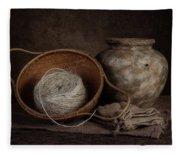 Ball Of Twine Fleece Blanket
