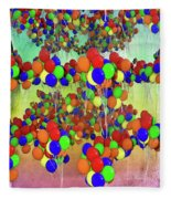 Balloons Everywhere Fleece Blanket