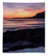 Bamburgh Castle Bam0031 Fleece Blanket
