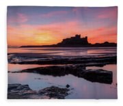 Bamburgh Castle Bam0032 Fleece Blanket