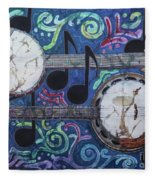 Banjos Fleece Blanket