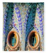 Barcelona Mosaic  Fleece Blanket