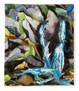 Bash Bish Falls - 3 Fleece Blanket