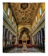 Basilica Di San Crisogono Fleece Blanket