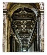 Basilica Papale Di San Paolo Fuori Le Mura Fleece Blanket