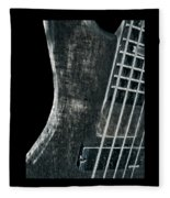 Bass Guitar Musician Player Metal Rock Fleece Blanket