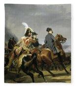 Bataille D'iena Fleece Blanket