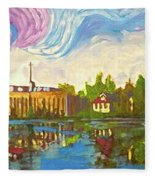 Bayou Saint John One Fleece Blanket