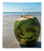 Beach Coconut Fleece Blanket