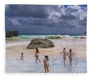 Beach Day Fleece Blanket