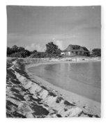 Beach Sand Cove Fleece Blanket