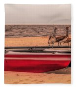 Beached Fleece Blanket