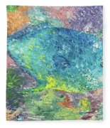 Beauty Of The Reef Fleece Blanket