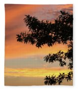 Beautiful Sunset Fleece Blanket