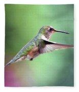 Beauty In Motion Fleece Blanket