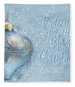 Believe In The Magic - Hope Valley Art Fleece Blanket