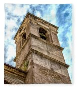 Bell Tower Fleece Blanket