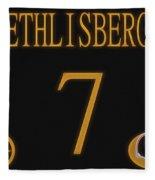 Ben Roethlisberger Jersey Fleece Blanket