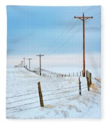 Bend In The Road Fleece Blanket
