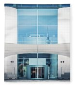 Berlin - Bundeskanzleramt Fleece Blanket