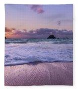 Bermuda Sunrise Welcome To Heaven Crossbay Beach Fleece Blanket