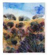 Beyond The Hills Fleece Blanket