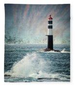 Beyond The Northern Waves Fleece Blanket
