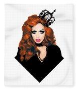 Bianca Del Rio  Fleece Blanket