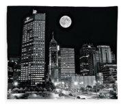 Big Moon Indianapolis 2019 Fleece Blanket