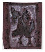 Black Ivory Issue 1b15 Fleece Blanket