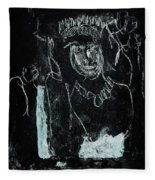 Black Ivory Issue 1b9a Fleece Blanket